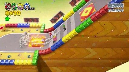 Spots TV japonais de Super Mario 3D World