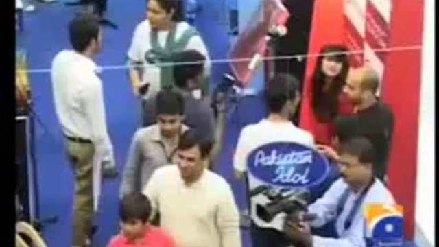 Pakistan Idol Auditions Lahore Funny Pakistani Contestant 7