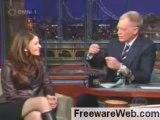 Aishwarya Rai Burns David Letterman in his own show - Posted by sameer pimpalkhute