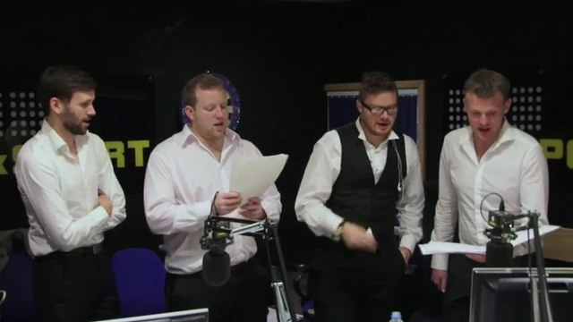 Liverpool, Arsenal & Man United Football Fans Songs By Barbershop Quartet !!