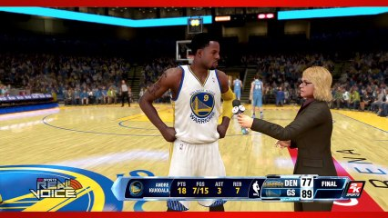Real Voices Trailer de NBA 2K14