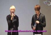 [Sub.Esp] JYJ The Day - conversación Jaejoong y Junsu