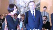 Présentation et lancement de la liste Européenne Grand Est menée par LAURE FERRARI. Debout la République. Nicolas Dupont-Aignan.