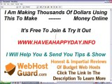 Earn Money On The Internet  - Home Based Business - Web Hosting - Extra Money Online - PayPal