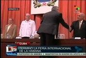 Finaliza Feria Internacional de La Habana