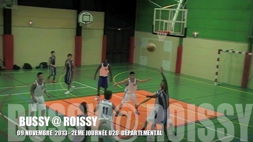 SAISON 13/14 - 2ÈME JOURNÉE U20 : BUSSY @ ROISSY