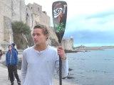 ITW Arthur Arutkin Champion de France Espoir et Vice champion de France Open SUP Beach Race 2013