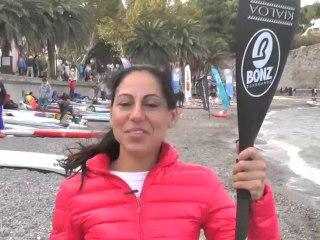 ITW Céline Guesdon Championne de France SUP Beach Race 2013