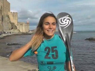 ITW Olivia Piana, Vice championne de France SUP Beach race 2013