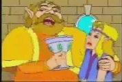 Link And Zelda Eat Ganon