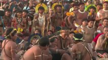 Indigenous peoples' games take place in Brazil