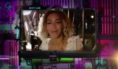 "Beyoncé winner the ""Best Live Ema"" 2013"