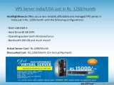Discounts on Shared, Reseller, Dedicated servers and VPS Hosting at HostRightNow.in