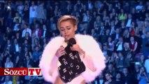 Miley Cyrus Yine Yaptı Yapacağını