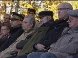 """11 novembre - Hollande à Oyonnax: """"Marcel Lugand, vous êtes le dernier acteur de ce défilé de l'espoir"""" - 11/11"""