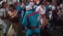 WWW.DANSACUBA.COM filles cubaines dansent dans les rues au Carnaval juillet 2013