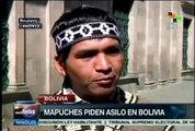 Indígenas mapuches huyen a Bolivia