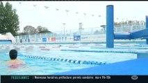 La natation pour des malades à la piscine Nakache (Toulouse)