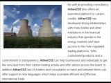 Emissions Trading, Consultancy and Carbon Emission Reductions l AitherCo2