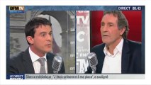 """Valls : """"C'est le moment de serrer les coudes"""""""