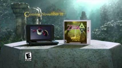 Pub TV de The Legend of Zelda : A Link Between Worlds