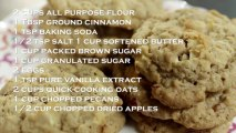Apple Crisp Oatmeal Cookies Recipe