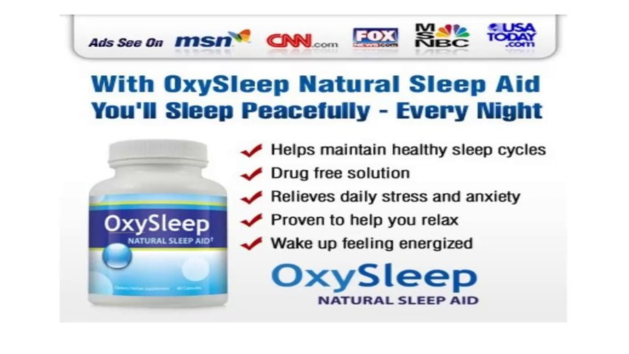 How To Sleep Better At Night With Natural Sleeping Pills Video