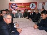 Ercengiz'den Emekli Sen ve UED Ziyareti