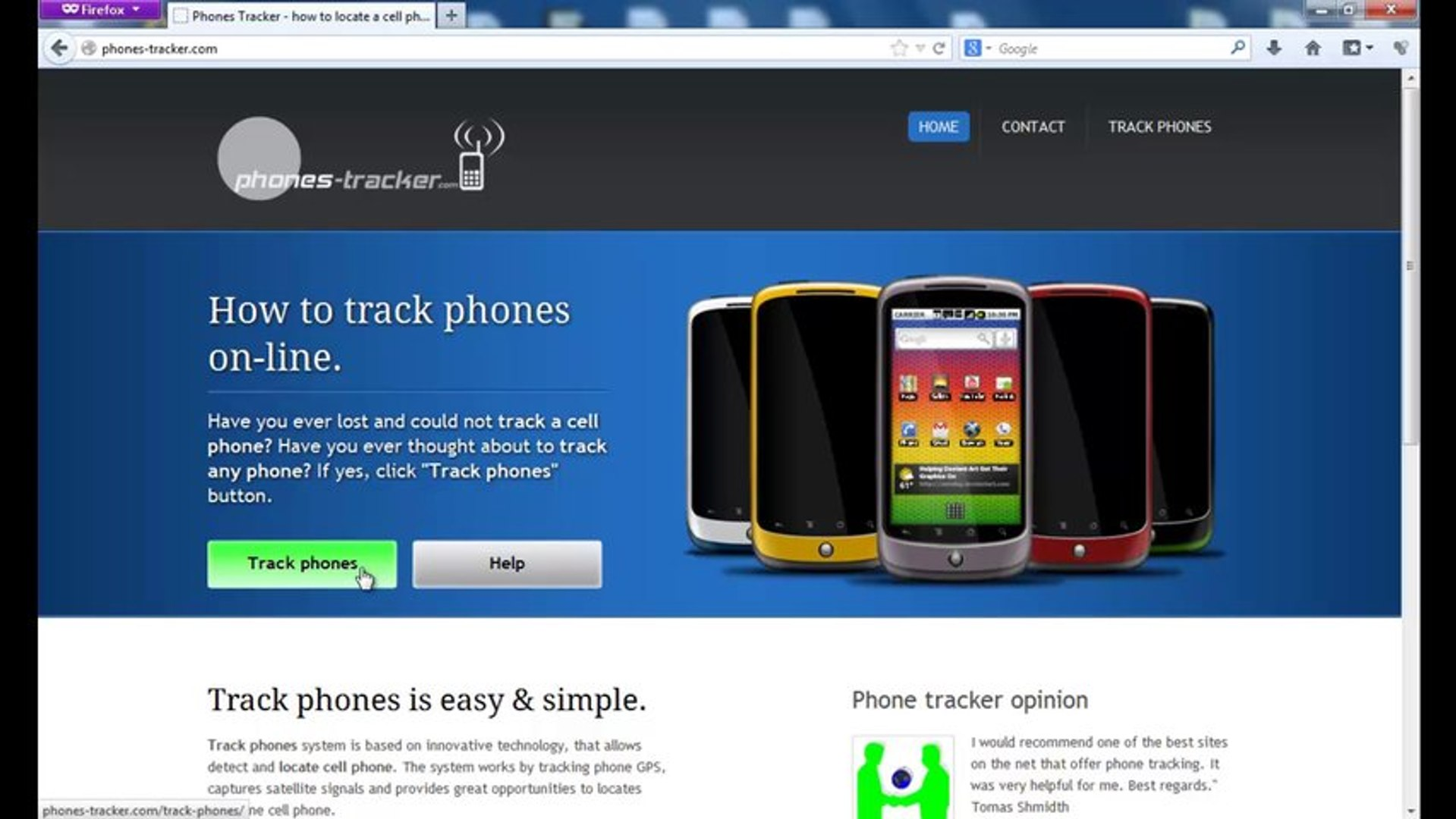 Phone tracker - how to locate any cell phone free
