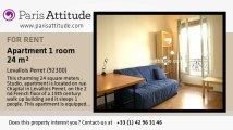 Studio Apartment for rent - Levallois Perret, Levallois Perret - Ref. 4854