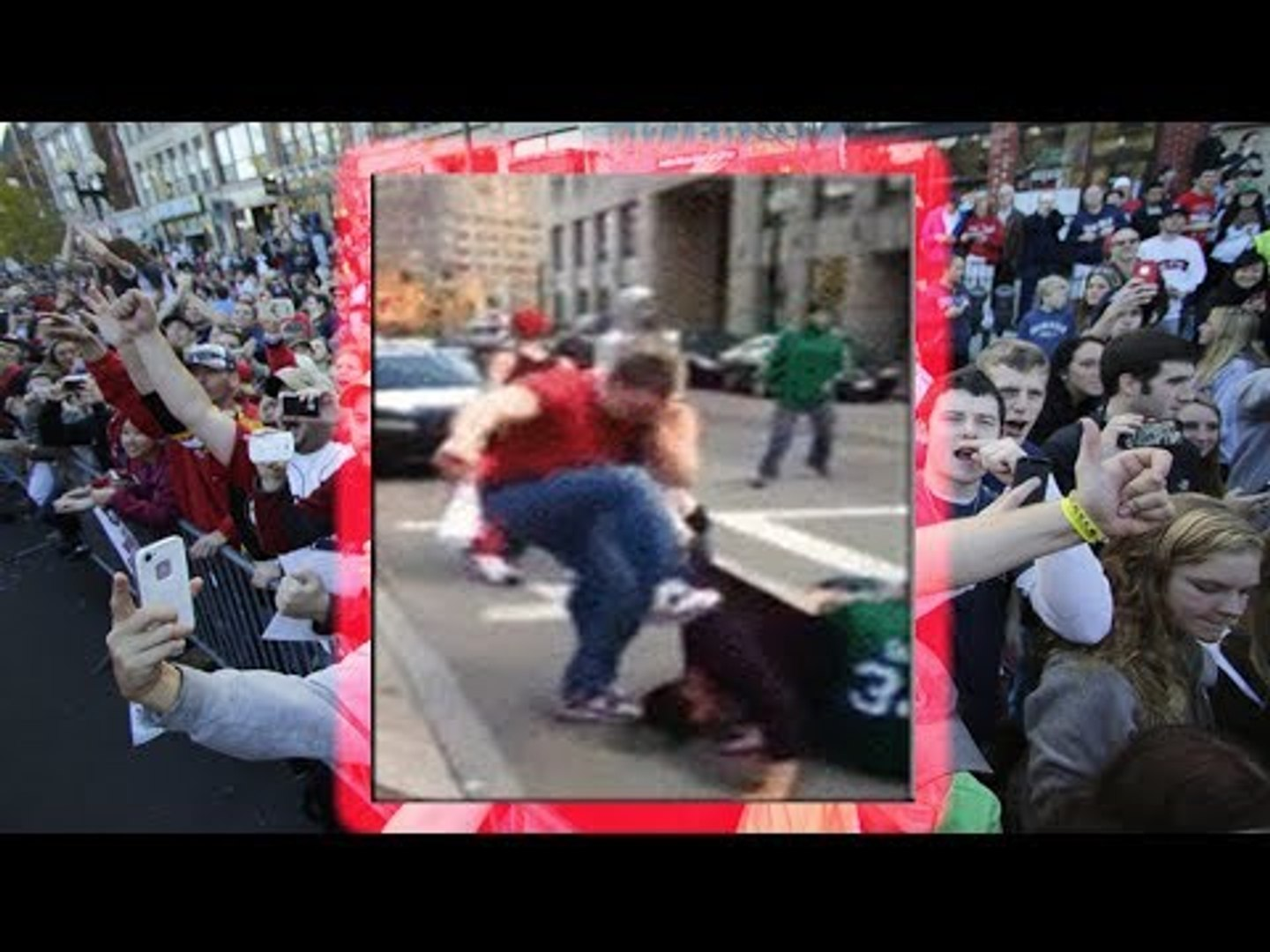 Vicious assault: Two men videoed curb-stomping bystanders at Red Sox  victory parade