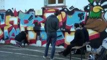 Jamm de graff aux Docks de Cahors