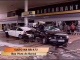Accident dans une station-essence au Brésil
