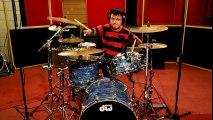 Il joue de la batterie malgrés son handicap-Foo Fighters - Everlong drum cover