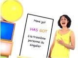 Grammaire : Have got