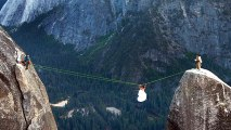 Crazy Couple Ties The Knot On 3000 Foot Cliff In Extreme Wedding