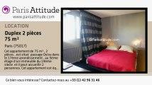 Duplex 1 Chambre à louer - Porte Maillot/Palais des Congrès, Paris - Ref. 6686