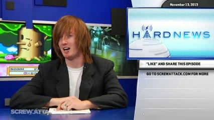 Hard News 11/13/13 - New Mario 3D World features, Zelda Street Pass battles, and Xbox Sharks - Hard News