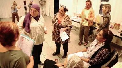 Répétition de la Création « Yam, Odette, Khadija, Aminata… Tissé métisse 2013