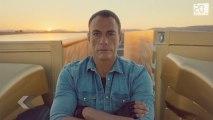 Jean-Claude Van Damme de retour est toujours en forme.