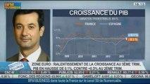 Les composantes du PIB français inquiètent: Gilles Moec, dans Intégrale Bourse - 14/11