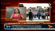 Paro del sector público de cara a las elecciones presidenciales: Chile
