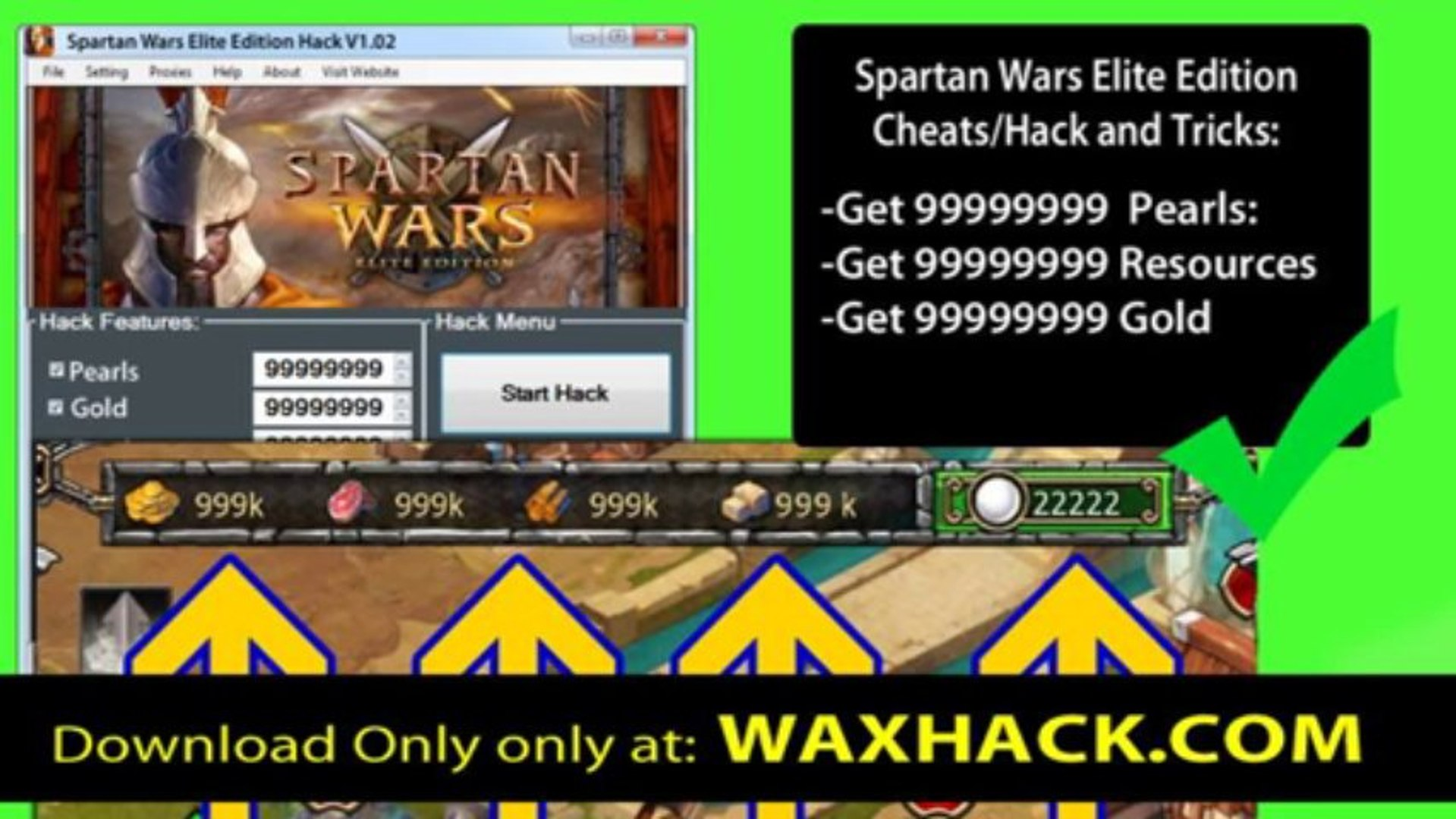 Spartan Wars Elite Edition Cheats get 99999999 Pearls - iOs Working Spartan Wars Elite Edition Pearl
