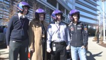 Sebastian Vettel's Day With Infiniti ahead of the 2013 US Grand Prix