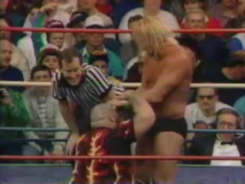 Barry Windham vs  Bam Bam Bigelow-NWA US Title