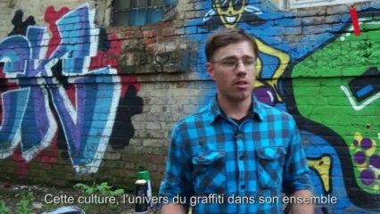 Les graffeurs russes s'expriment en toute liberté