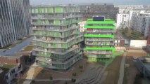 L'envers du décor: Logements sociaux rue Villiot Paris XII