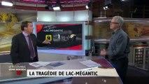 Reconstitution de la tragédie de Lac-Mégantic