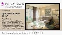 Studio Apartment for rent - Porte Maillot/Palais des Congrès, Paris - Ref. 5795