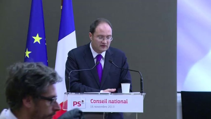 Discours de Guillaume Bachelay au conseil national du 16 novembre 2013